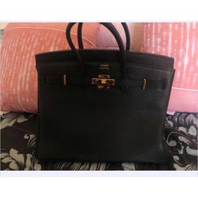 2e1e7b51ae3 Hermosa Bolsa Hermes Birkin Negra - Bolsas en Mercado Libre México