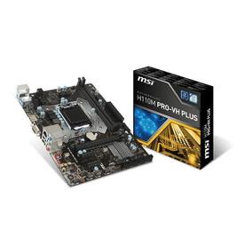 Mother Msi H110m Pro-vh Plus Intel 1151 Ddr4 Hdmi Usb Chaco