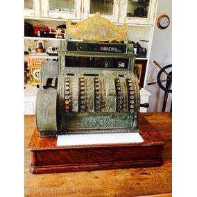 Raridade Antiga Máquina Registradora National 1919 Funciona