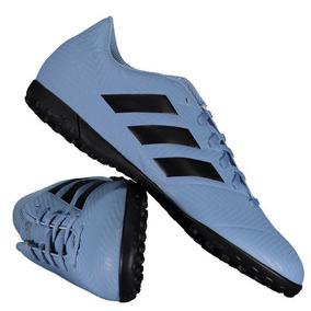 Chuteira adidas Nemeziz Messi Tango 18.4 Tf Society Azul por Futfanatics 2717bc75e55a0
