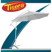 Sombrilla Jardin Plegable Manivela Plegable Pie Tisera Som-1