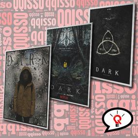 Placa Decorativa Dark Netflix Series Frete Grátis