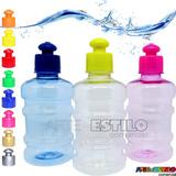 Emb 30 Squeezes Galão Em Pet Para Agua Suco Academia Festa