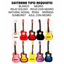 Guitarra Acustica Tipo Requinto Hecha En Paracho Con Envio