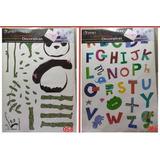 Calcomania Sticker Decorativa Reutilizable Cuarto Sala