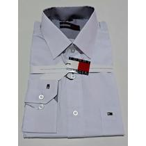 Camisa Masculina Manga Longa Branca Varia Marcas