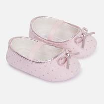 Zapatos Para Bebé Niña Marca Mayoral Rosa Y Crudo