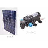 Bomba Dágua Solar + Painel Fotovoltaico + Controlador Carga