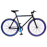 Bicicleta Lahsen Fixed Bike Aro 28 Dynamic Color Negro