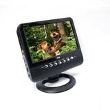 Monitor Veicular Tela Lcd 9 Tv,radio Fm,sd Card E Usb