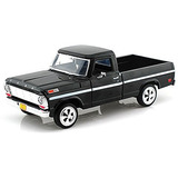 Showcasts Coleccionables 1969 Camioneta Pickup Ford F-100 1/