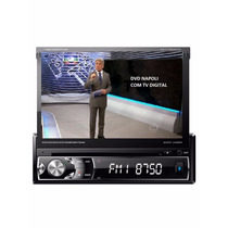 Dvd Retratil Bluetooth + Tv Digital + Cam Ré + Cont Volante