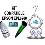 Kit De Polvo + Chip + Drum Epson Epl6200/6200n