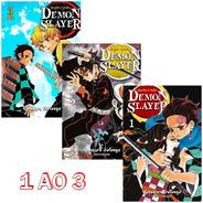 Demon Slayer 1 Ao 3! Mangá Panini! Lacrado! Kimetsu No Yaiba