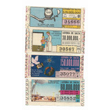 Billetes De Lotería De La Provincia De Salta-argentina (1)