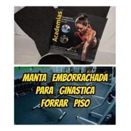Piso Emborrachado 3mm Com 2.00x1.00mts  Original De Academia