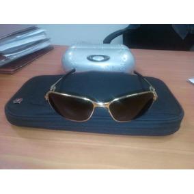 C Ware Oakley Originales Con Baño De Oro