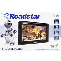Tv Digital Lcd Portatil Roadstar 7 Entrada Sd Usb