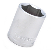 Soquete Sextavado Curto 1/2 X 24 Mm - Waft