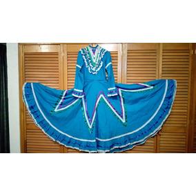 Vestido Regional Jalisco Doble Ancho Talla 14 34x45x120 Cm.