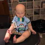 Bebe Reborn Aparenta Una Niño De 2 Años!! Pintada A Mano