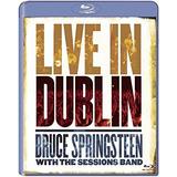 Bruce Springsteen Live In Dublin Blu Ray
