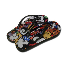 Chinelo Mickey E Minnie By Romero Britto