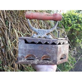 Antigua Plancha A Carbón Pietra