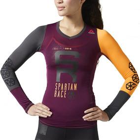 Playera De Compresion Spartan Race St Mujer Reebok B47066
