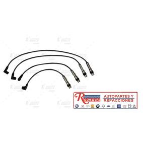 Jgo Cables Bujia Vw Polo 4 Cil 1.6 2.0 Lts 03/05 = Cb278