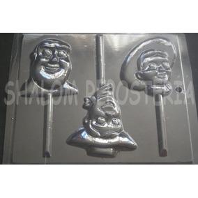*molde Paletas Chocolate Toy Story Woody Buzz Y Jessy Caras*