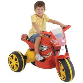 Mini Moto Elétrica Infantil X Turbo Vermelha - Xalingo