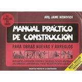 Manual Practico De Construccion - Nisnovich -ediciones Nismo
