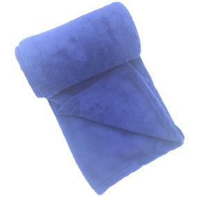 Manta Cobertor Enxoval Recém Nascido Azul Marinho 0,90 X1,10