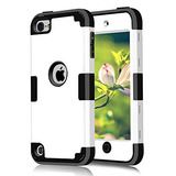 Ipod Touch 5 6 Case, Cheershare Dual Layered 3 In 1 Hard Pc