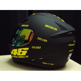 Capacete Valentino Rossi Tubarao 46 Fosco Italia 2 Viseiras
