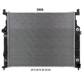 Radiador Mercedes-benz Ml350 2007 Deyac T/a 32 Mm
