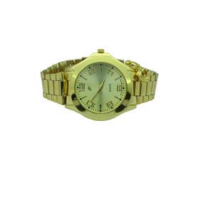 Relógios Preço Atacado Analógico Dourado Com Pingente