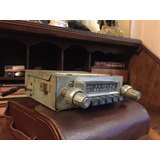 Radio Antigua De Auto Marca Pianola Completa Muy Linda