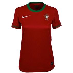 Jersey Original Nike Seleccion Portugal Dama Euro 2012 07a09a2661de1