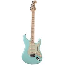 Guitarra Strato Tagima T635 Linha Brasil Verde Pastel