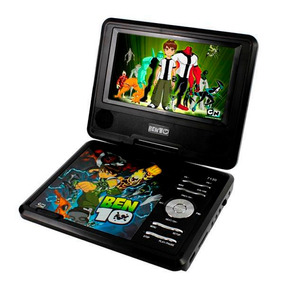 Dvd Portatil Ben 10 Disney Com Game Tv Analógica Rádio