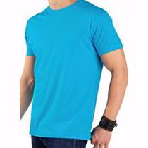 Camiseta Lisa 100% Algodão Fio 30 Penteado P/m/g\gg