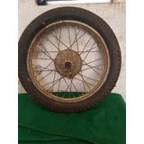 Roda Motocicleta Antiga Java