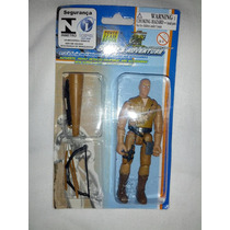 Boneco Power Team Elite - 10cm - Estilo Gi Joe - Caçador