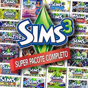 Mega Pacote - The Sims 3 + Todas Expansões Em Português Br