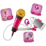 Selfie Mic Microfono Palo Selfie Karaoke App Ink Educando