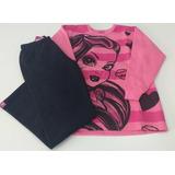 Pijama Infantil Feminino Monster High Rosa