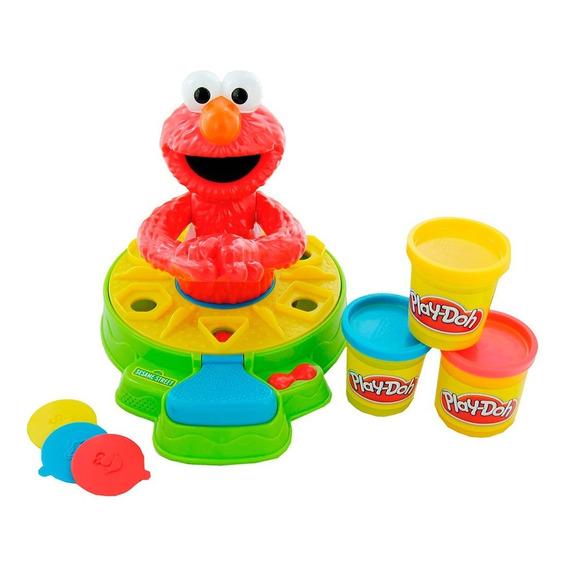 Play Doh Juego De Masas Elmo Carrusel Original Hasbro