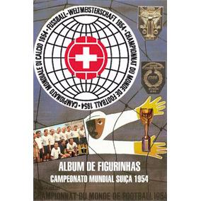 Álbum Figurinhas Digitalizado Copa Do Mundo 1954
